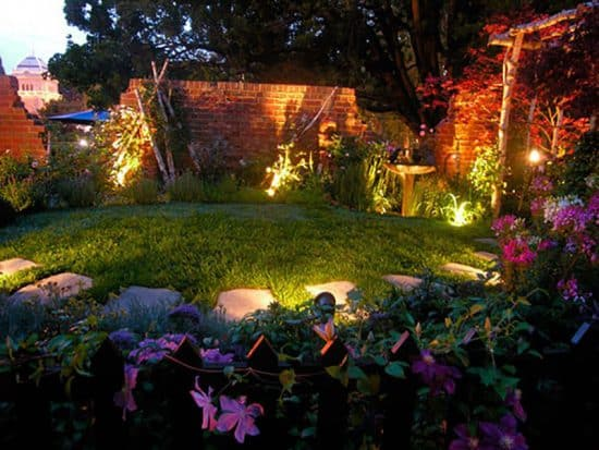 Garden Led spot lights